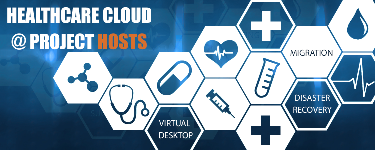 Healthcare Cloud Graphic for Project Hosts